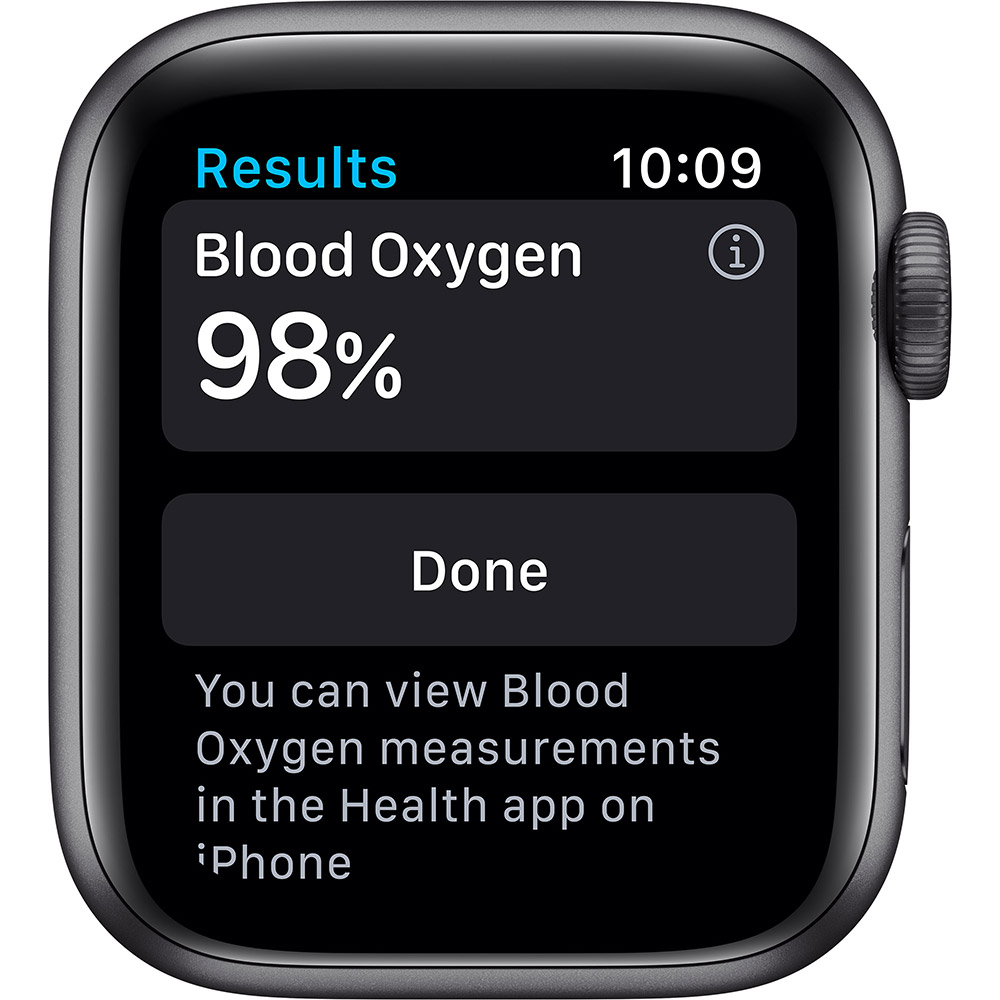 Смарт-годинник APPLE Watch S6 GPS 40 Space Alum Grey Black Sp/B (MG133UL/A) Сумісність iOS (Apple)