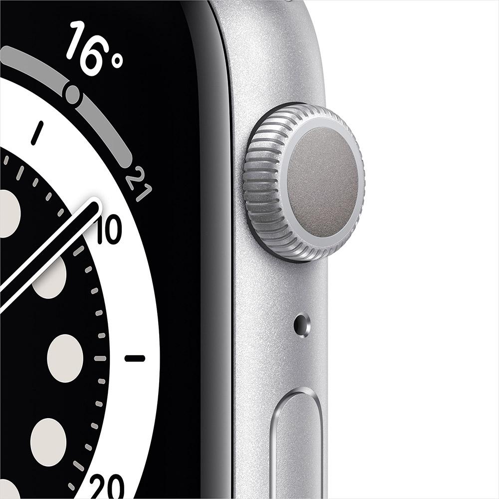 Смарт-часы APPLE Watch S6 GPS 44 Silver Alum White Sp/B (M00D3UL/A) Операционная система Watch OS