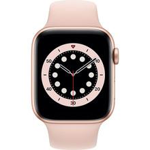 Смарт-годинник APPLE Watch S6 GPS 44 Gold Alum Pink Sand Sp/B (M00E3UL/A)