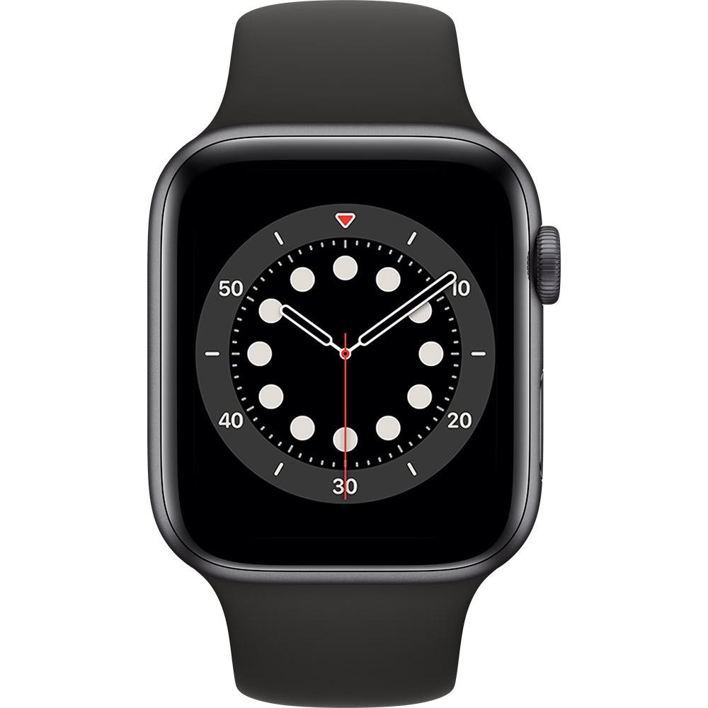 Смарт-часы APPLE Watch S6 GPS 44 Space Grey Alum Black Sp/B (M00H3UL/A) Функциональность для взрослых
