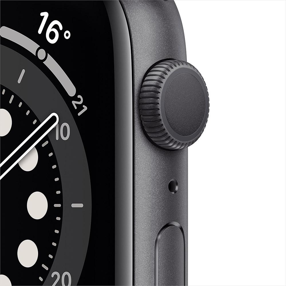 Смарт-часы APPLE Watch S6 GPS 44 Space Grey Alum Black Sp/B (M00H3UL/A) Операционная система Watch OS