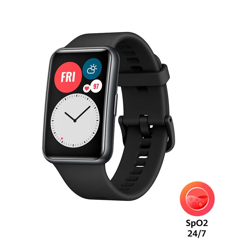 Смарт-годинник HUAWEI Watch Fit Graphite Black Функціональність для дорослих