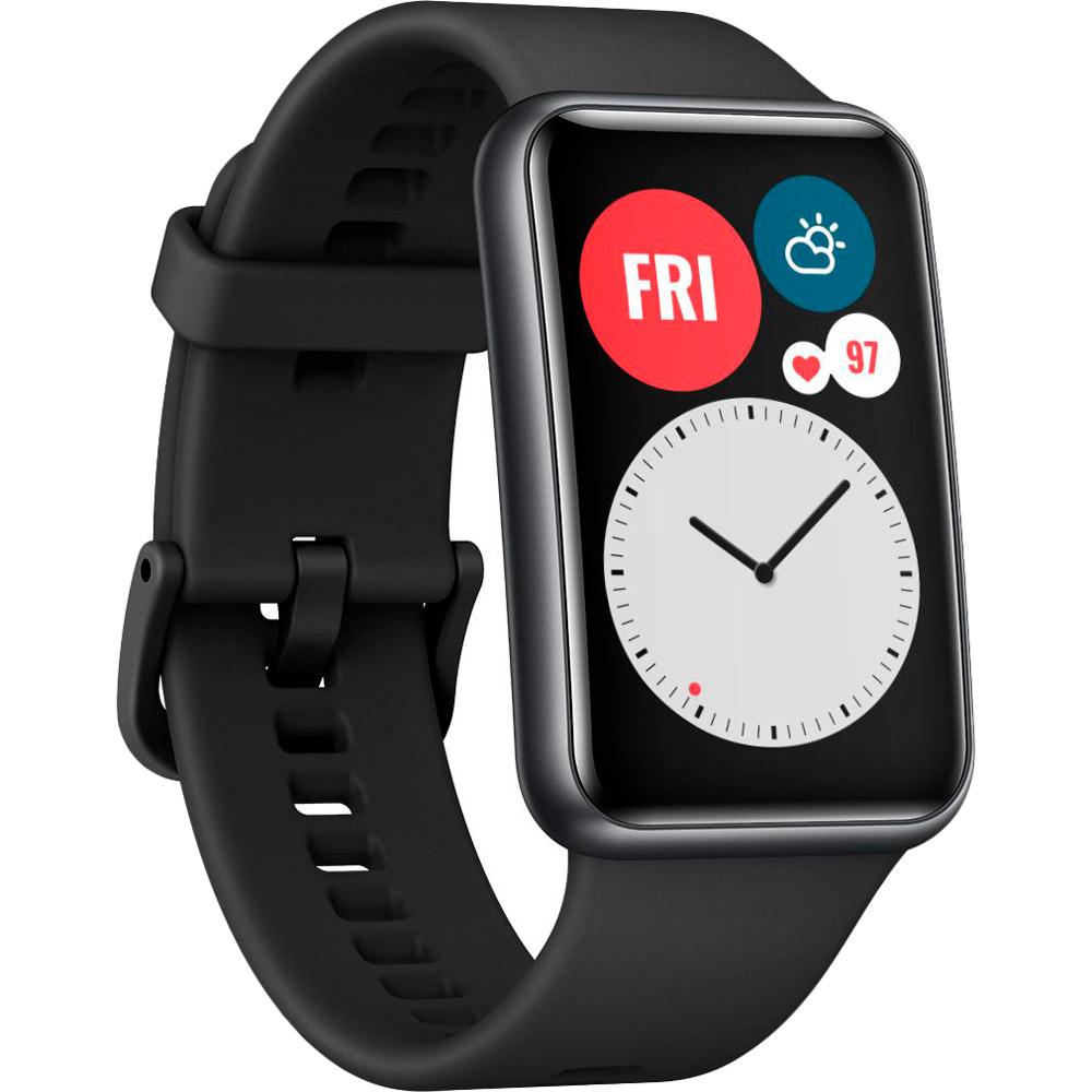 Смарт-годинник HUAWEI Watch Fit Graphite Black Сумісність Android OS