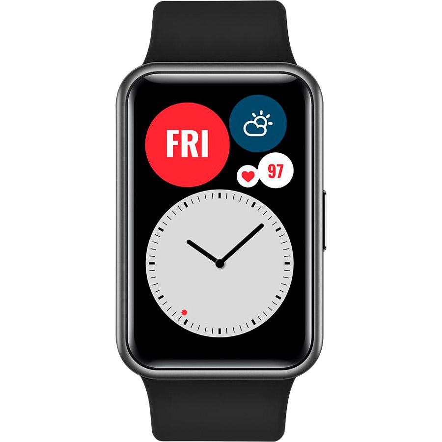 Смарт-годинник HUAWEI Watch Fit Graphite Black Сумісність iOS (Apple)