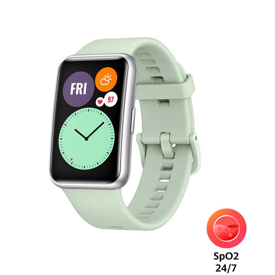 Смарт-часы HUAWEI Watch Fit Mint Green Функциональность для взрослых