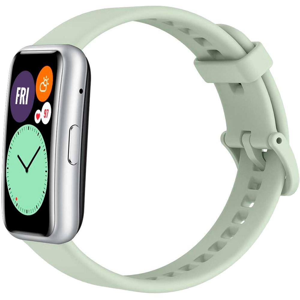 Смарт-часы HUAWEI Watch Fit Mint Green Совместимость Android OS