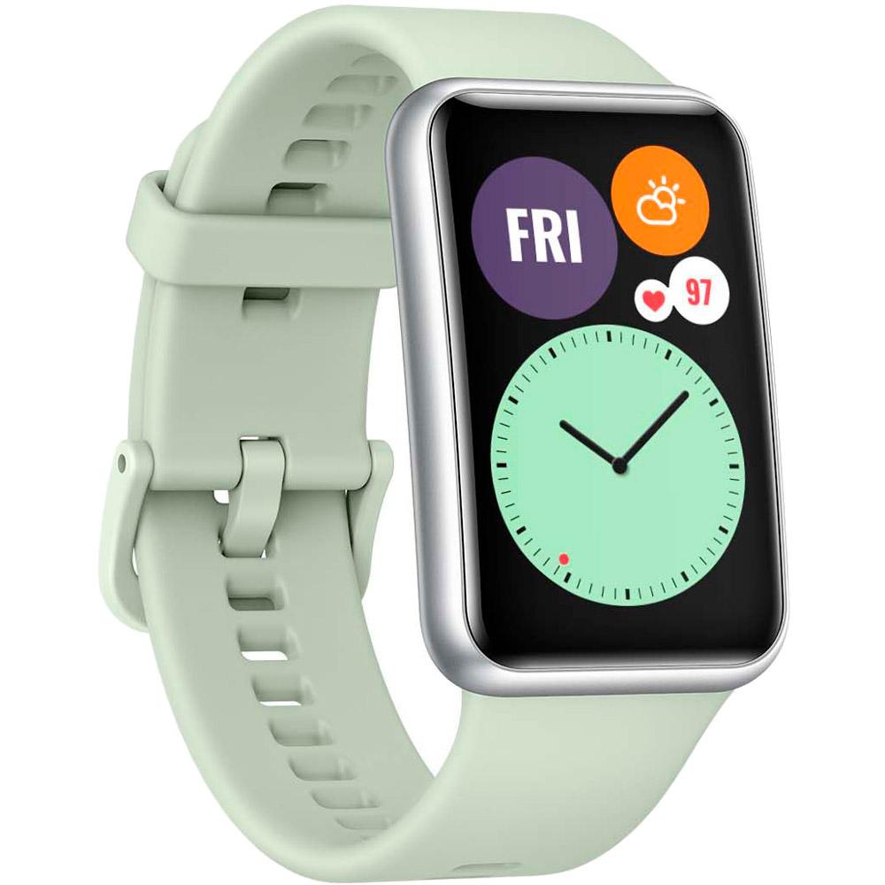Смарт-часы HUAWEI Watch Fit Mint Green Совместимость iOS (Apple)