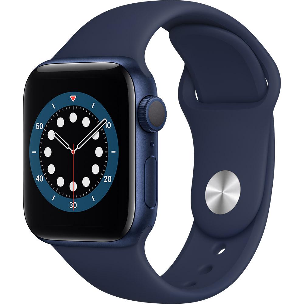 Смарт-часы APPLE Watch S6 GPS 40 Blue Sp/B (MG143UL/A)