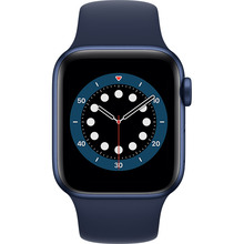 Смарт-годинник APPLE Watch S6 GPS 40 Blue Sp/B (MG143UL/A)