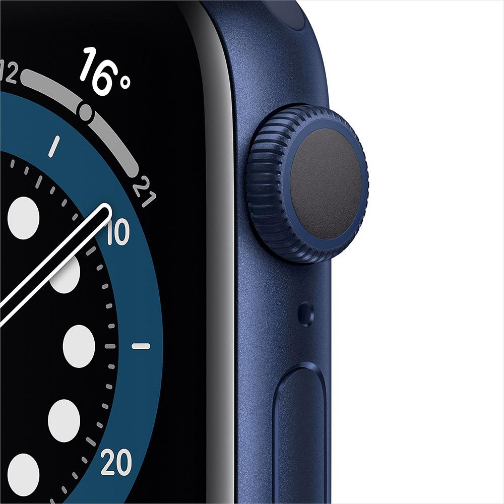 Смарт-часы APPLE Watch S6 GPS 40 Blue Sp/B (MG143UL/A) Операционная система Watch OS