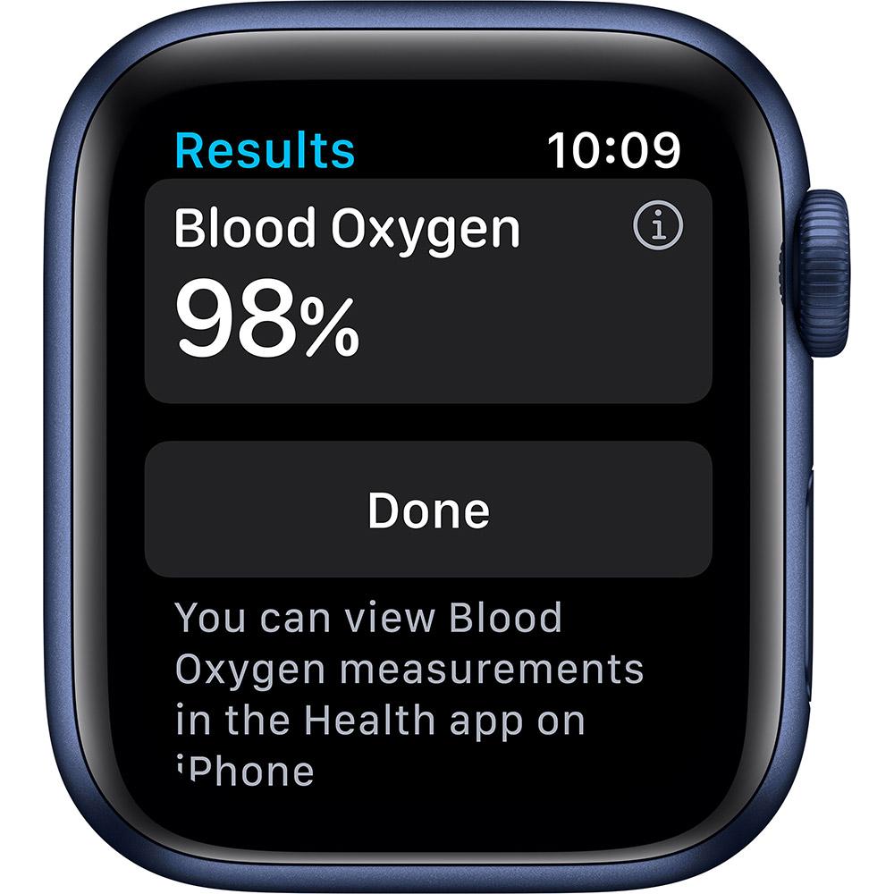 Смарт-часы APPLE Watch S6 GPS 40 Blue Sp/B (MG143UL/A) Совместимость iOS (Apple)