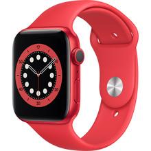 Смарт-часы APPLE Watch S6 GPS 44 Red Sp/B (M00M3UL/A)