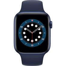 Смарт-годинник APPLE Watch S6 GPS 44 Blue Sp/B (M00J3UL/A)