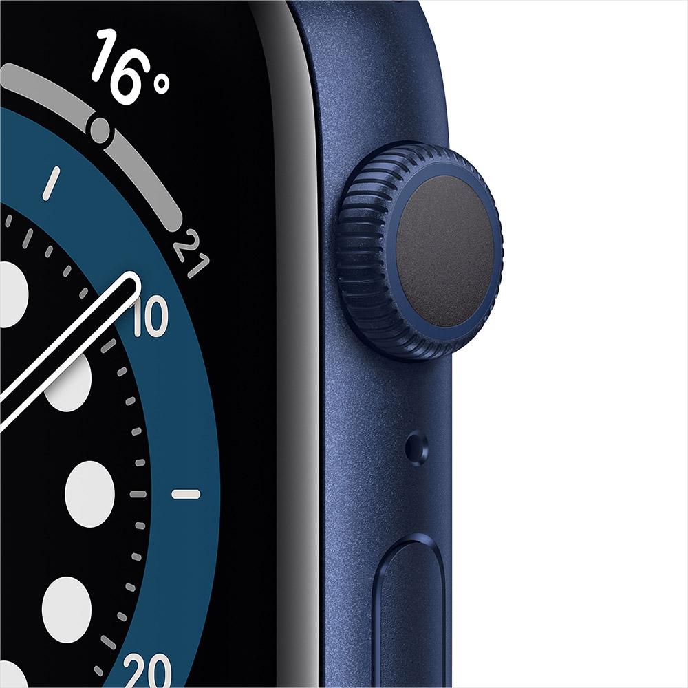 Смарт-часы APPLE Watch S6 GPS 44 Blue Sp/B (M00J3UL/A) Операционная система Watch OS