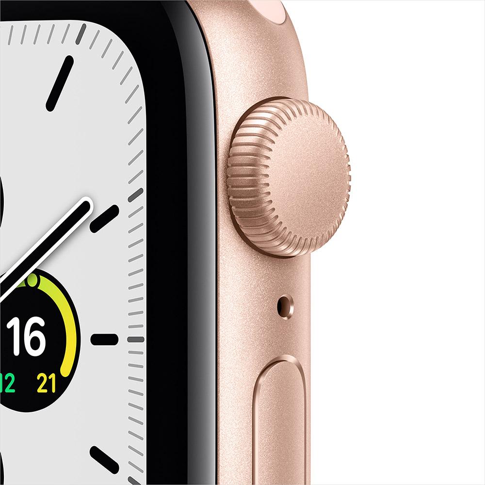 Смарт-часы APPLE Watch SE GPS Gold Sp/B (MYDN2UL/A) Операционная система Watch OS