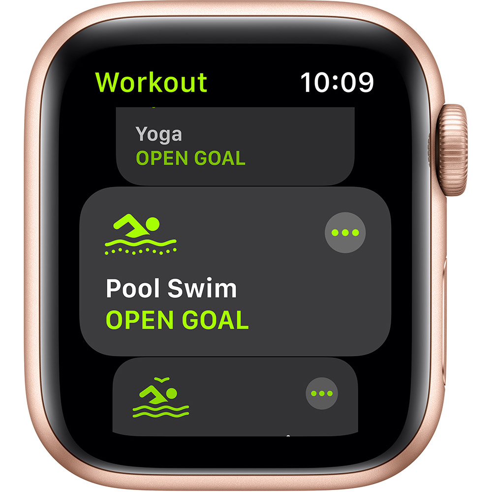 Смарт-часы APPLE Watch SE GPS Gold Sp/B (MYDN2UL/A) Совместимость iOS (Apple)