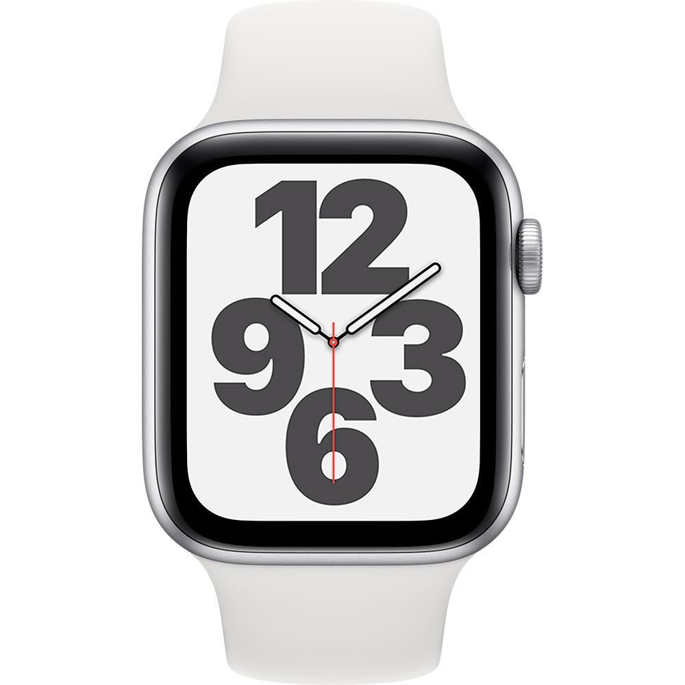 Смарт-часы APPLE Watch SE 44 GPS Silver Sp/B (MYDQ2UL/A) Функциональность для взрослых