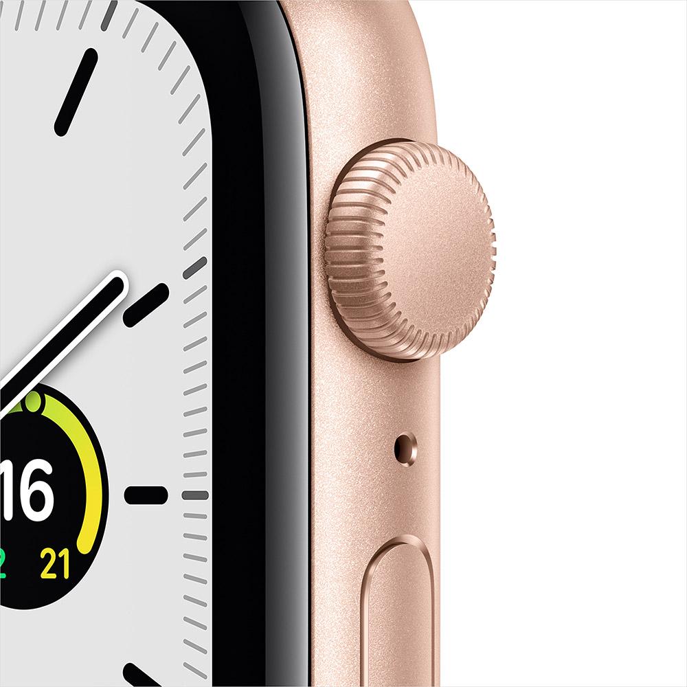 Смарт-часы APPLE Watch SE 44 GPS Gold Sp/B (MYDR2UL/A) Операционная система Watch OS