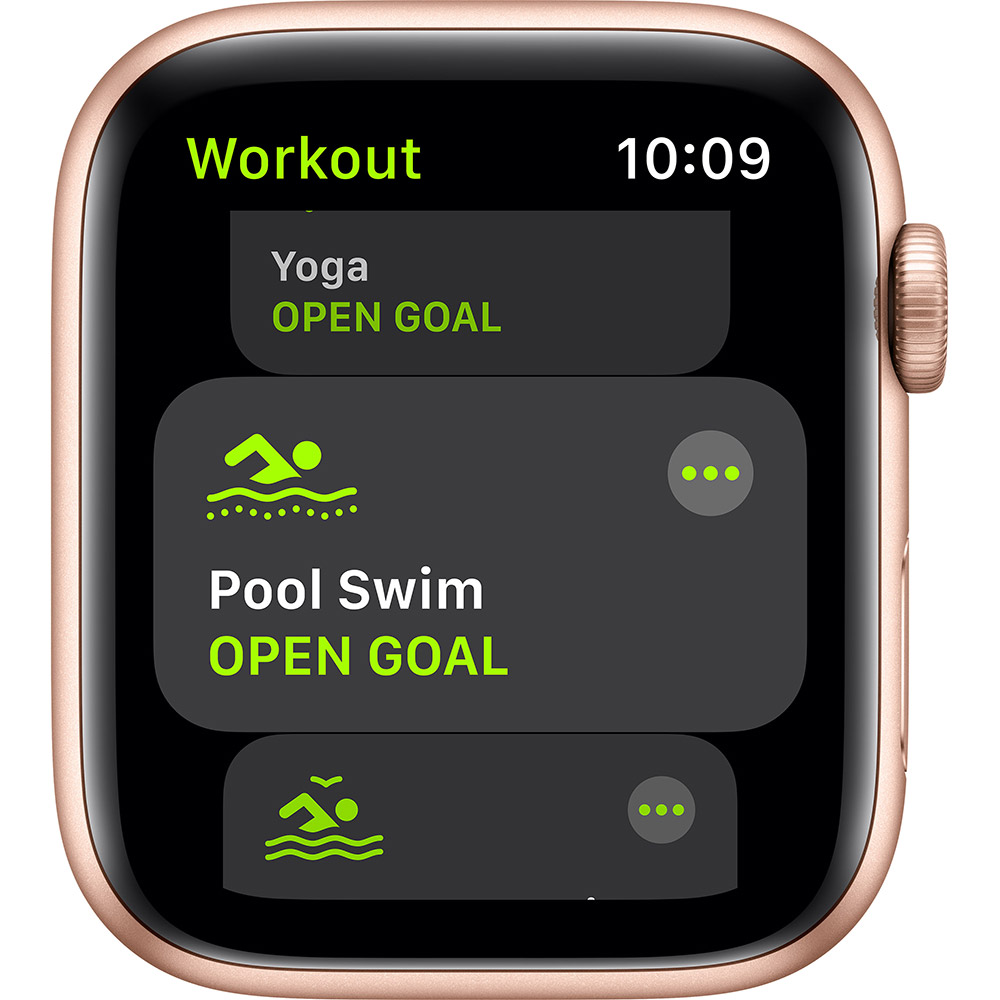 Смарт-часы APPLE Watch SE 44 GPS Gold Sp/B (MYDR2UL/A) Совместимость iOS (Apple)