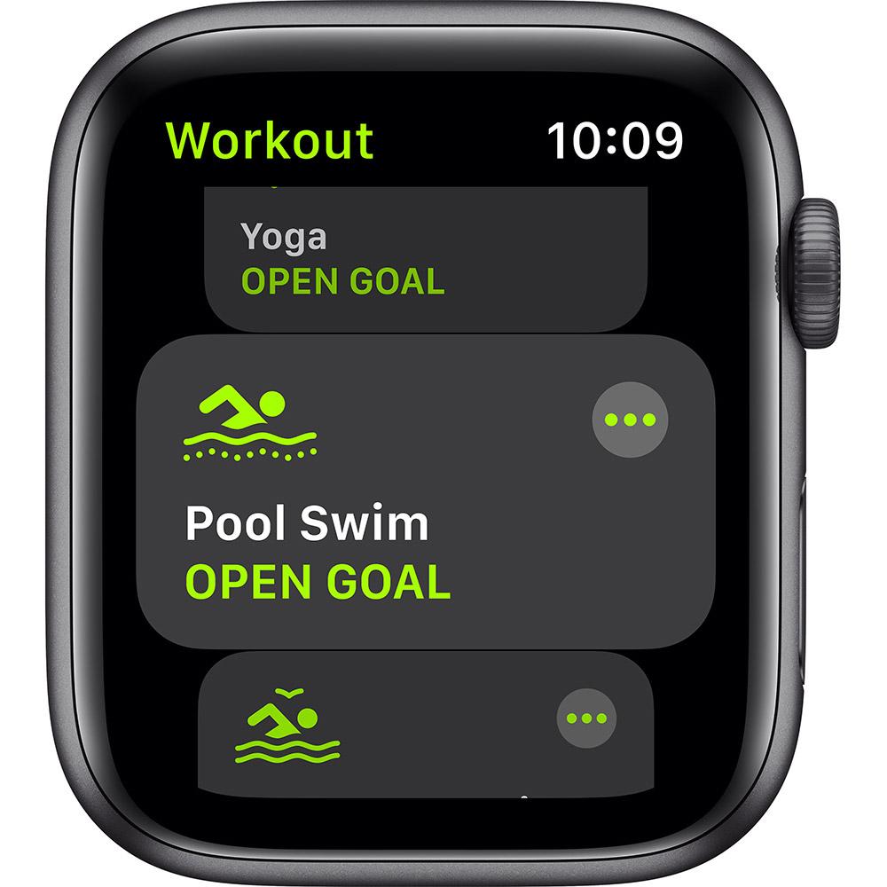 Смарт-часы APPLE Watch SE 44 GPS Grey Sp/B (MYDT2UL/A) Совместимость iOS (Apple)