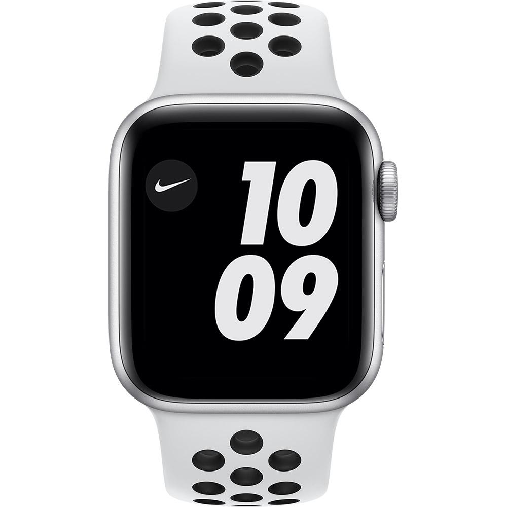 Смарт-часы APPLE Watch Nike S6 GPS 40 Silver Alum Platinum/Black (M00T3UL/A) Функциональность для взрослых