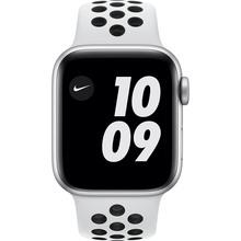 Смарт-часы APPLE Watch Nike S6 GPS 40 Silver Alum Platinum/Black (M00T3UL/A)