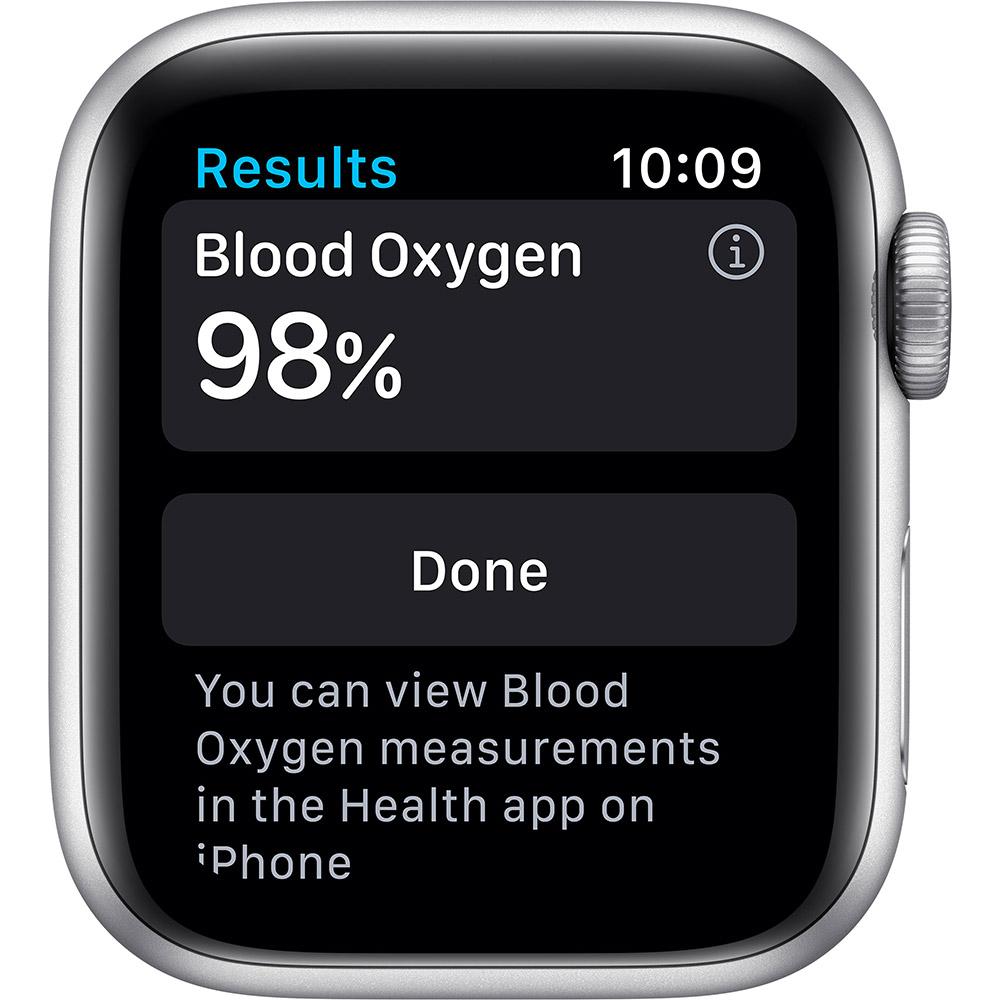 Смарт-часы APPLE Watch Nike S6 GPS 40 Silver Alum Platinum/Black (M00T3UL/A) Совместимость iOS (Apple)