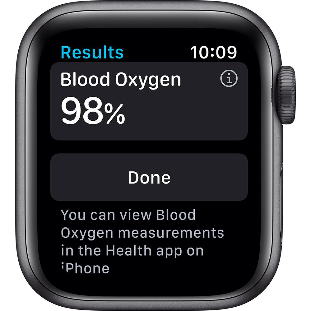 Смарт-часы APPLE Watch Nike S6 GPS 40 Space Gray Alum (M00X3UL/A) Совместимость iOS (Apple)