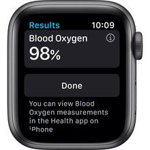 Смарт-годинник APPLE Watch Nike S6 GPS 40 Space Gray Alum (M00X3UL/A)