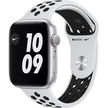 Смарт-часы APPLE Watch Nike S6 GPS 44 Silver Alum Platinum/Black (MG293UL/A)