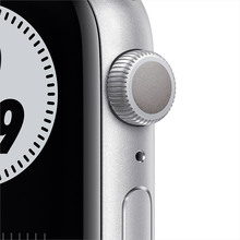 Смарт-годинник APPLE Watch Nike S6 GPS 44 Silver Alum Platinum/Black (MG293UL/A)