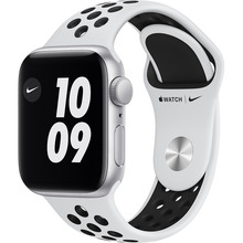 Смарт-часы APPLE Watch Nike SE GPS 40 Silver Alum Platinum/Black (MYYD2UL/A)