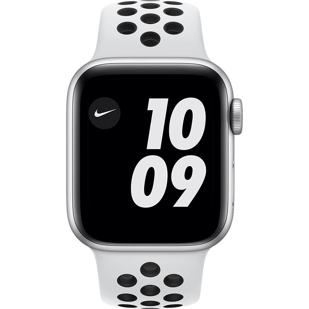 Смарт-часы APPLE Watch Nike SE GPS 40 Silver Alum Platinum/Black (MYYD2UL/A) Функциональность для взрослых