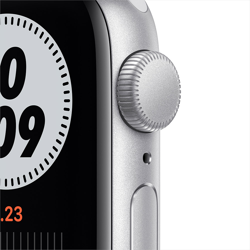Смарт-часы APPLE Watch Nike SE GPS 40 Silver Alum Platinum/Black (MYYD2UL/A) Операционная система Watch OS