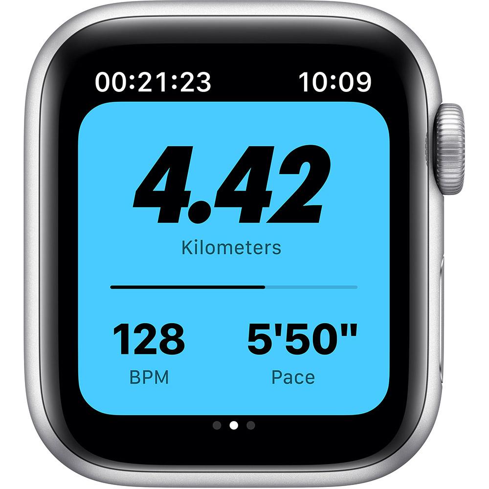 Смарт-часы APPLE Watch Nike SE GPS 40 Silver Alum Platinum/Black (MYYD2UL/A) Совместимость iOS (Apple)