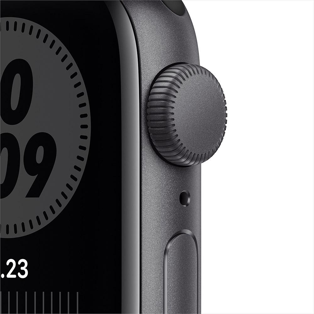 Смарт-часы APPLE Watch Nike SE GPS 40 Space Gray Alum (MYYF2UL/A) Операционная система Watch OS