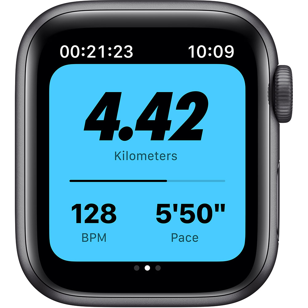 Смарт-часы APPLE Watch Nike SE GPS 40 Space Gray Alum (MYYF2UL/A) Совместимость iOS (Apple)