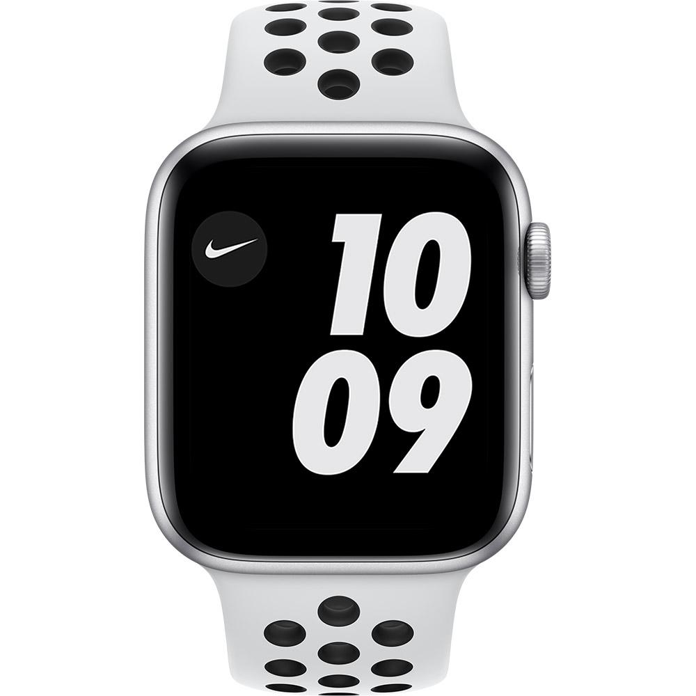 Смарт-часы APPLE Watch Nike SE GPS 44 Silver Alum Platinum/Black (MYYH2UL/A) Функциональность для взрослых