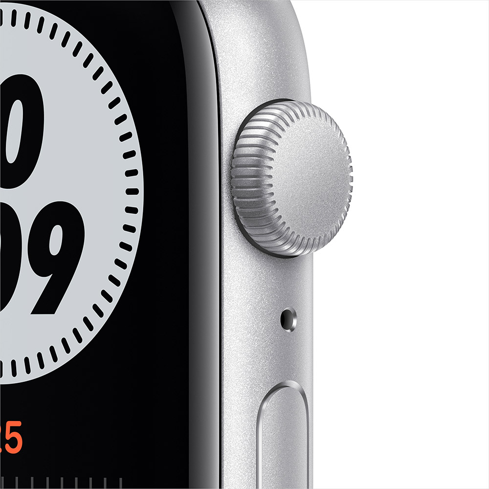 Смарт-часы APPLE Watch Nike SE GPS 44 Silver Alum Platinum/Black (MYYH2UL/A) Операционная система Watch OS
