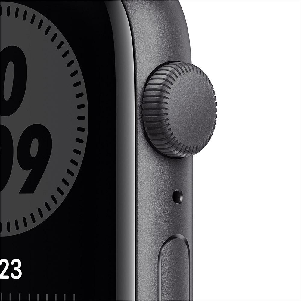 Смарт-часы APPLE Watch Nike SE GPS 44 Space Gray Alum (MYYK2UL/A) Операционная система Watch OS