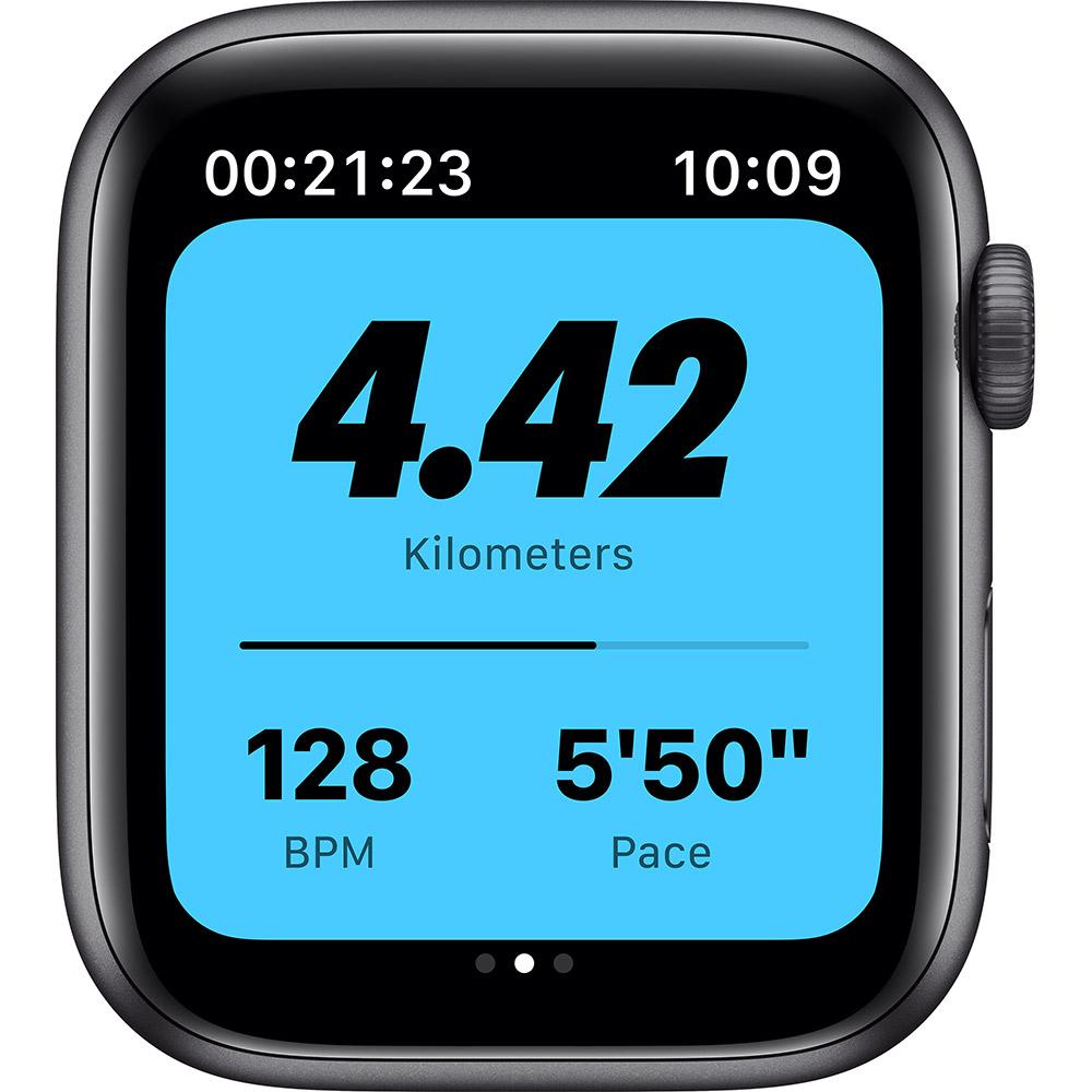 Смарт-часы APPLE Watch Nike SE GPS 44 Space Gray Alum (MYYK2UL/A) Совместимость iOS (Apple)