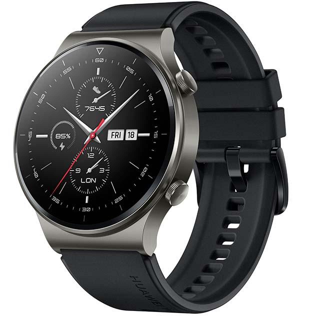 Смарт-часы HUAWEI WATCH GT 2 Pro 46mm Night Black