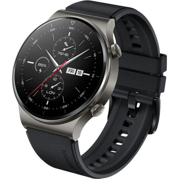 Смарт-часы HUAWEI WATCH GT 2 Pro 46mm Night Black Совместимость Android OS