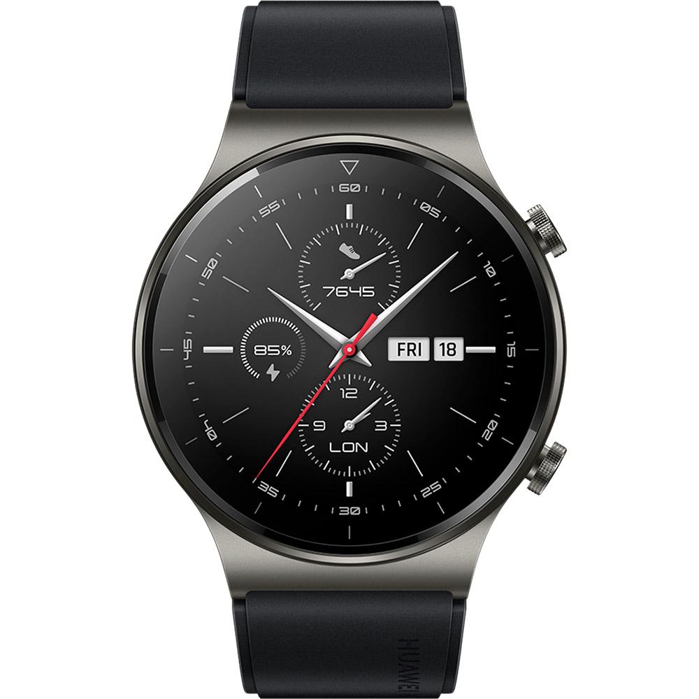 Смарт-часы HUAWEI WATCH GT 2 Pro 46mm Night Black Совместимость iOS (Apple)