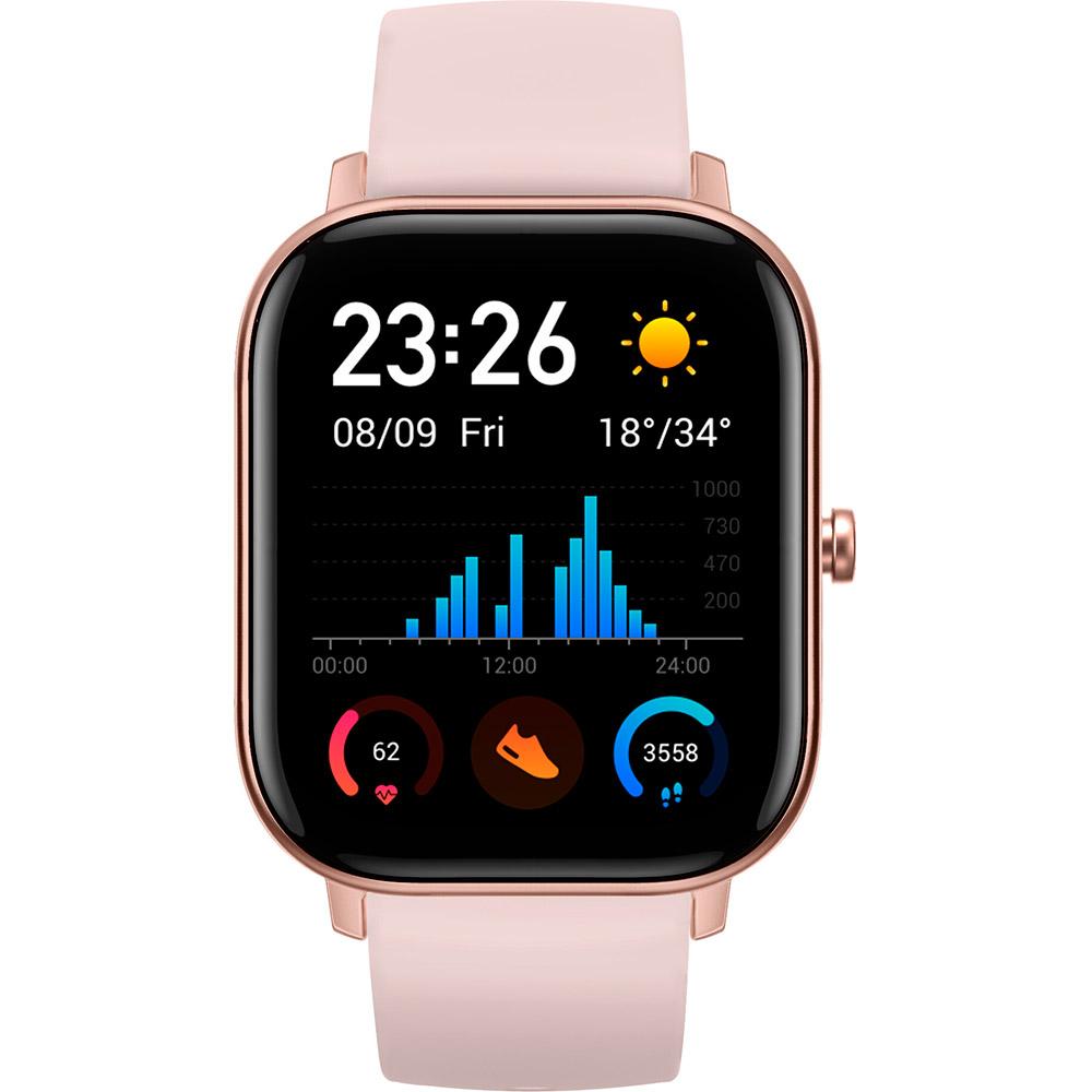Смарт-часы XIAOMI Amazfit GTS Rose pink Функциональность для взрослых