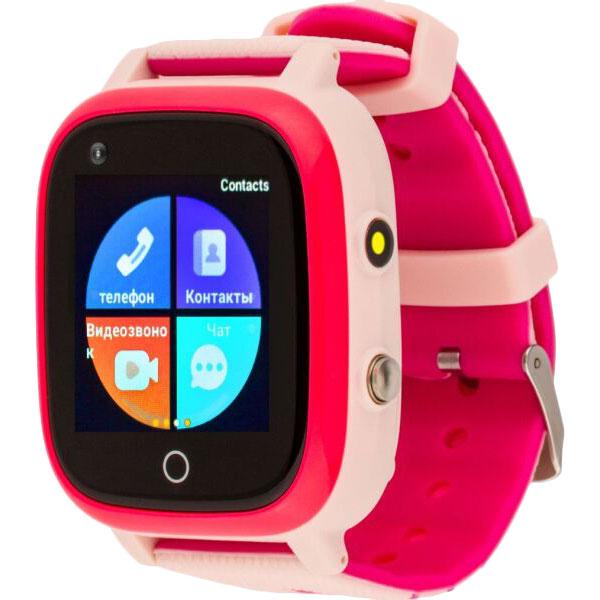 Смарт-часы AMIGO GO005 4G WIFI Thermometer Pink Функциональность детские