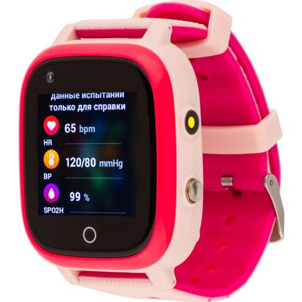 Смарт-часы AMIGO GO005 4G WIFI Thermometer Pink Операционная система другая
