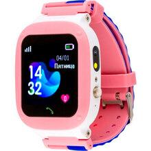 Смарт-часы AMIGO GO004 Splashproof Camera+LED Pink