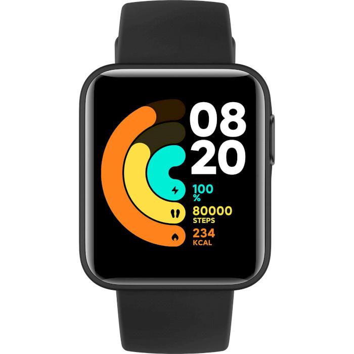 Смарт-часы XIAOMI Mi Watch Lite Black Функциональность для взрослых