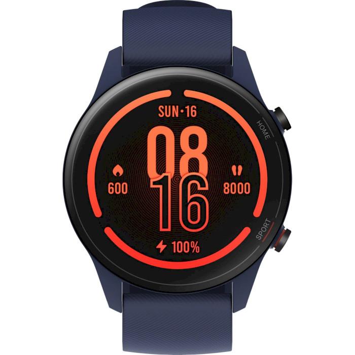 Смарт-годинник XIAOMI Mi Watch Blue Функціональність для дорослих